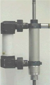 ERF damper with single damping duct
