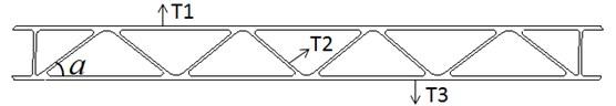 Sectional characteristics of the aluminum profile