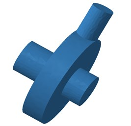 Boundary element model of the centrifugal pump