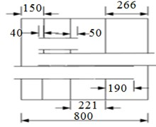 Diagram of muffler structures