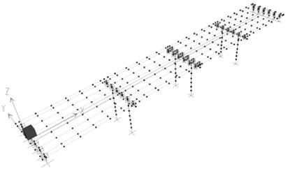 Bridge dimensions and analysis model