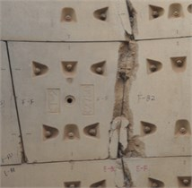 Damage of segments