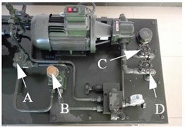 Figures of text-bed and data acquisition device