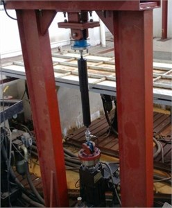 Traditional shock absorber and HESA test rig