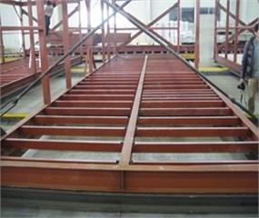 Light-weight steel floor