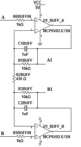 Buffer stage of instrumental amplifier
