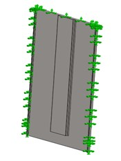 Concept of the elevator cabin panels structure