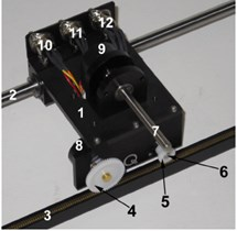 The linear motion plant IP-02 component