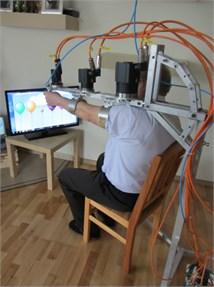 Prototype of ELISE robot for spastic  upper limb rehabilitation