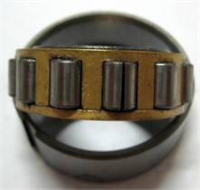 The processed faults on rolling bearing' inner race, rolling element and outer race