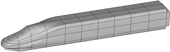 Sound cavity subsystems of the high-speed train