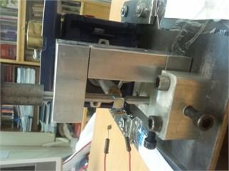 The loading fixture of quartz resonator