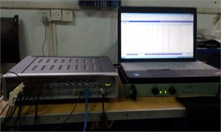 The test front end and power amplifier