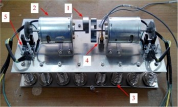 The dual-rotors exciter