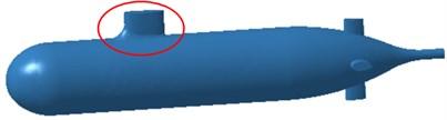 Geometric models of three kinds of submarines