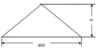 Triangle bump