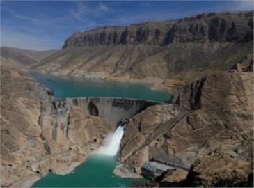 General view of Karun IV dam