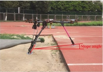 Snapshots of scaled drop test