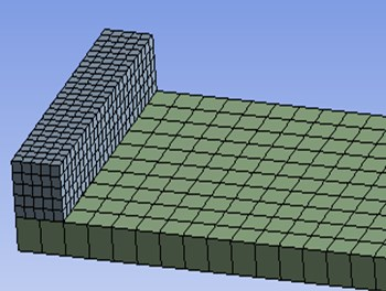 Transit mass in finite element model