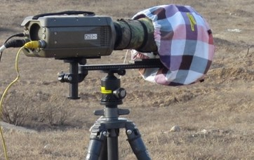 High-speed photography test system