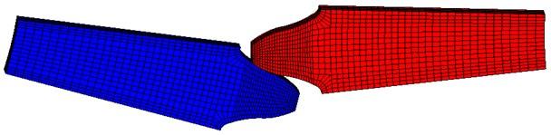 The entity model of micro-segment gear