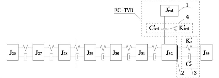 Schematic diagrams of installed position of EC-TVD