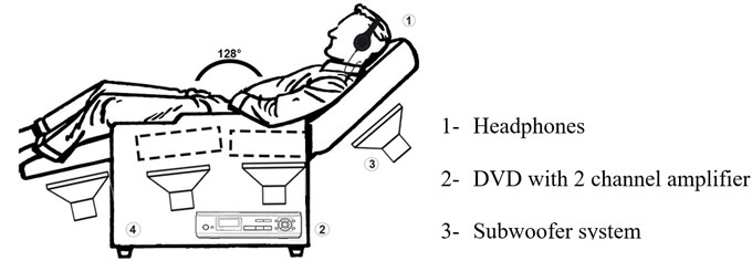 "Vibroacoustic chair (""Zen evolution"")"