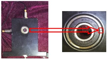 Rolling bearing outer raceway fault