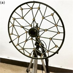 The structure of the pseudo random microphone array:  a) the traditional microphone array; b) the modified microphone array