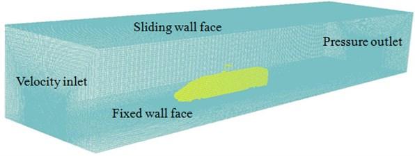 Computational model of aerodynamic characteristics of high-speed trains