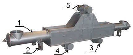 Two-way conveyor of the Scan-Vibro Company [2]