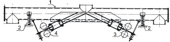 Two-way conveyor of the Jost Company