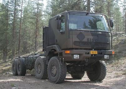Military trucks – Finland's defence force (Saurus, SISU) [6, 7]