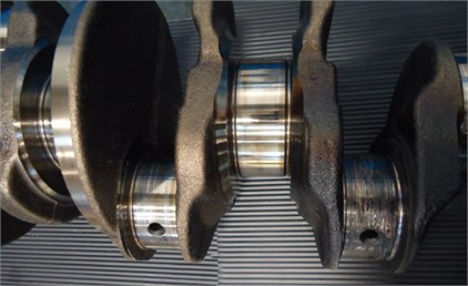 Bearing scuff on the Conrod journal