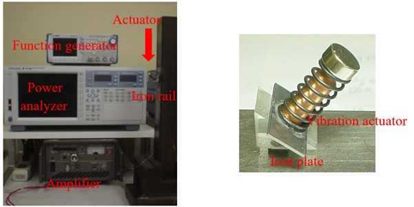 Experimental apparatus and vibration actuator