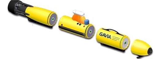"Structure of AUV ""Gavia"" [4]"