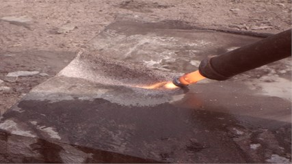 Formation of slotted working by using BVR60 thermal cutter torch with gas-dynamic nozzle