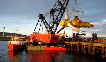 Oceade's 18 – 1.4 MW turbines commercial deployment. Source: Alstom