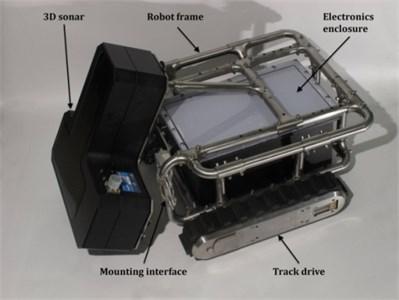 Tracked mobile robot – prototype