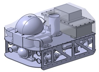 Design of the underwater remotely operated vehicle