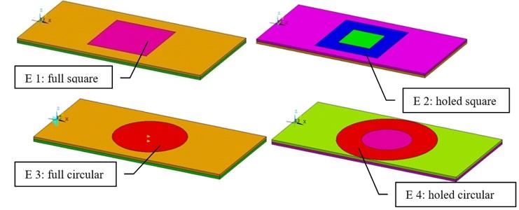 Electrodes configurations