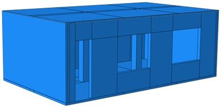 Geometric model of the reinforced model