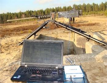 Recoil force measurement equipment