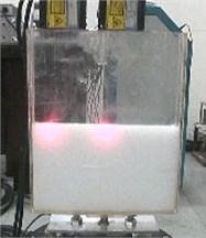 The test tank