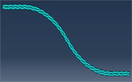 Division grids of curve  and downhill