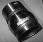 Components of failure bearing