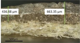 Prepared specimens for surface profile measurements