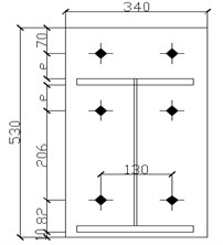 Structure of end-plate