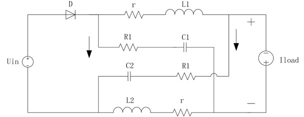 DC-link equivalent circuit of the ultra-high frequency Z-source converter