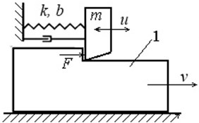 A model of self-oscillating system